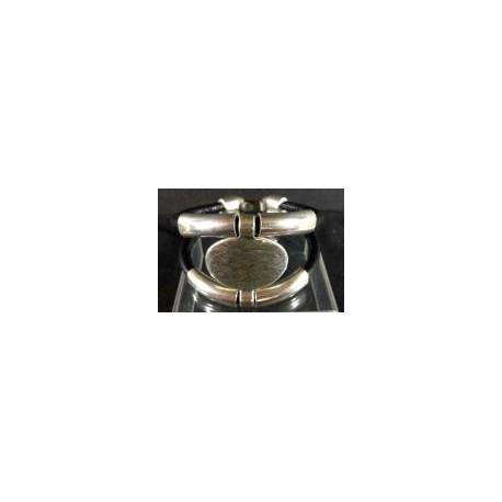 Bracelet cuir Chapa Tube