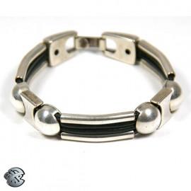 Bracelet métal 4 brins - Boules