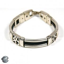 Bracelet métal 4 brins - Formes