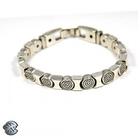 Bracelet métal 3 brins