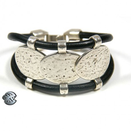 Bracelet cuir tricha