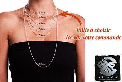 Comment choisir la taille de votre collier à commander ?