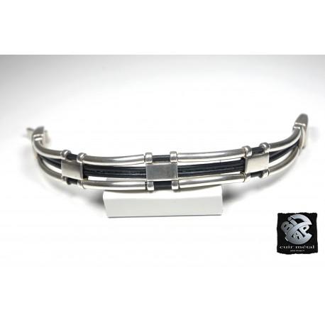 Bracelet métal 4 brins collection Archi