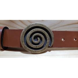 Ceinture cuir largeur 3 cm