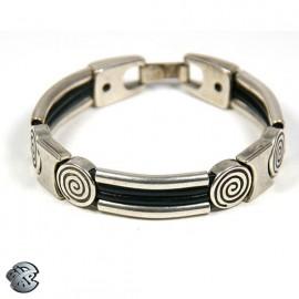 Bracelet métal 4 brins
